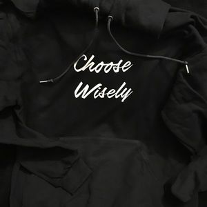Other - J Cole Choose Wisely Hoodie